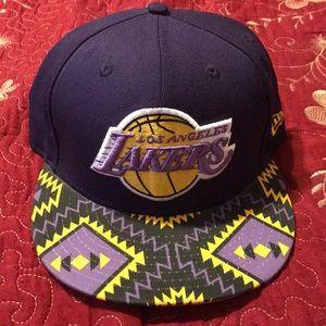 Lakers new era hat